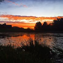 Sunset onthe Pond